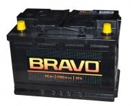 Аккумулятор Bravo 74 А EN 650A L+