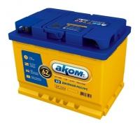 Аккумулятор АКОМ EFB 62 А EN 550A R+