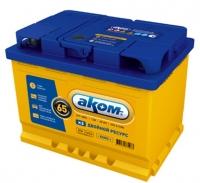 Аккумулятор АКОМ EFB 65 А EN 600A R+