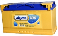 Аккумулятор АКОМ STANDART 100 А EN 850A L+