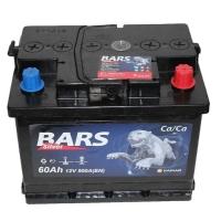 Аккумулятор Bars Silver 60 А EN 500A R+
