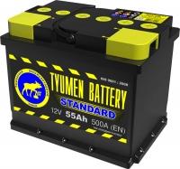 Аккумулятор  Tyumen Battery Standard 55 А EN 500A R+