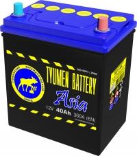 Аккумулятор  Tyumen Battery Asia 40 А EN 360A R+