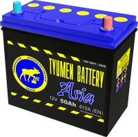 Аккумулятор  Tyumen Battery Asia 50 А EN 410A R+