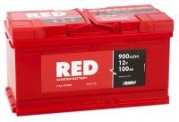 Аккумулятор RED 100 А EN 900A R+