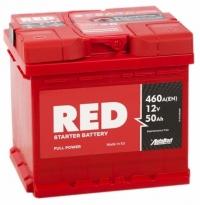 Аккумулятор RED 50 А EN 460A R+