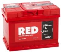 Аккумулятор RED 62 А EN 560A R+