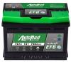 Аккумулятор AutoPart GALAXY EFB 72 А EN 650A R+