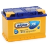 Аккумулятор АКОМ STANDART 75 А EN 700A R+